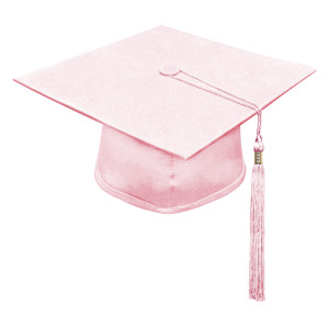 Pink One Way™ Cap & Tassel