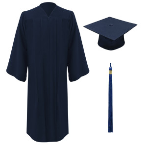 Navy Executive™ Cap, Gown & Tassel
