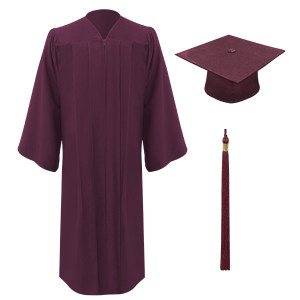 Maroon Executive™ Cap, Gown & Tassel
