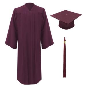 Maroon Executive™ Cap, Gown & Tassel