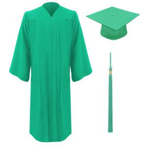 Emerald Executive™ Cap, Gown & Tassel