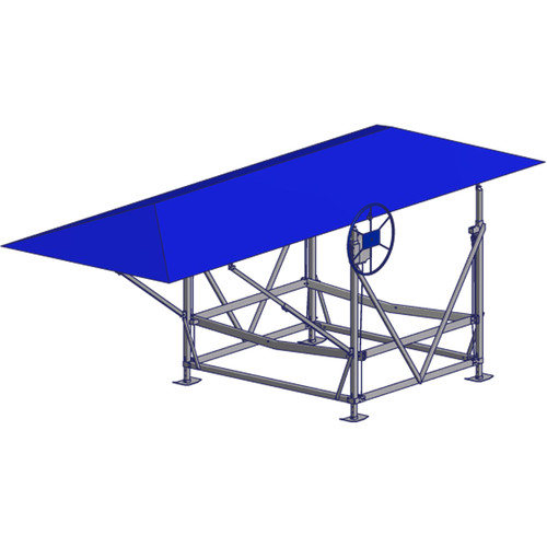 Hip Roof Canopy Cover - 13oz Vinyl with Top Coat