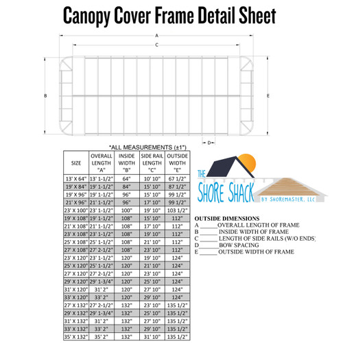 ShoreMaster Traditional Canopy Cover - WeatherMax