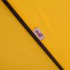 7.5 Feet Aluminum Beach Drape Umbrella with Crank and Push Button Tilt(Yellow)