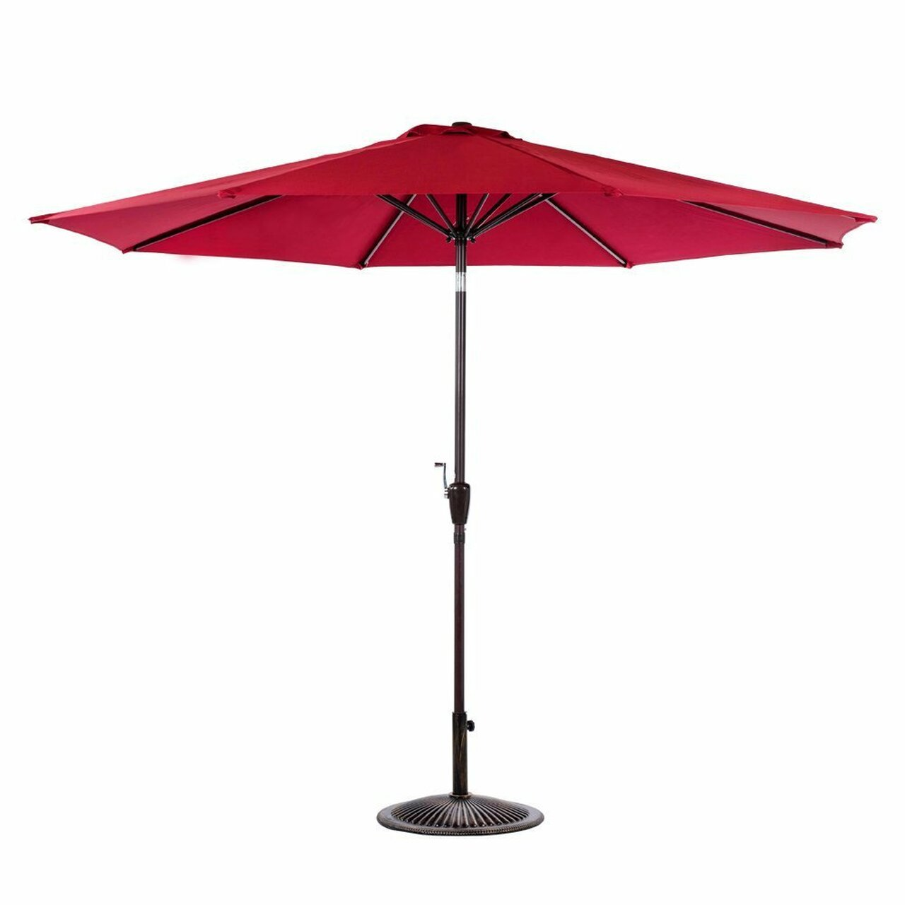 100 aluminum patio umbrella panama jack grey 9 ft aluminum