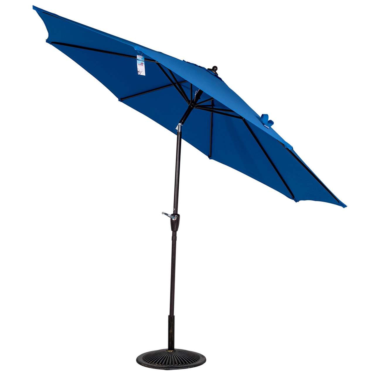 Uv Patio Umbrella: 10 Ft Olefin Fabric Solution Dyed And UV Resistant Patio