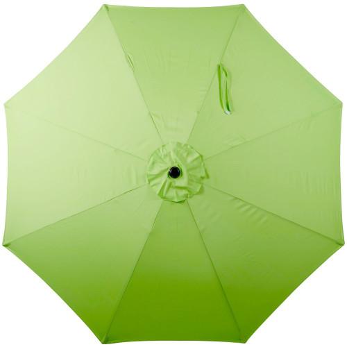 10 Feet Outdoor Aluminum Patio Umbrella(Lime Green)