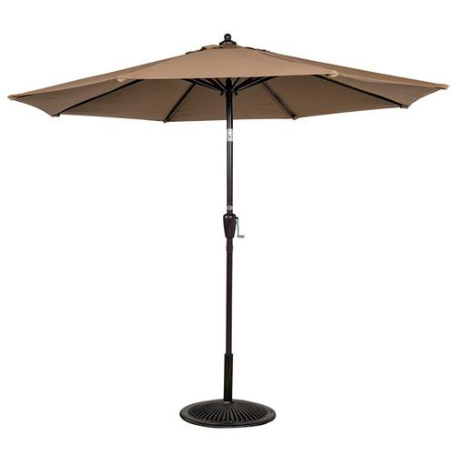 8.2 FT Patio Garden Outdoor Market Umbrella(Tan)