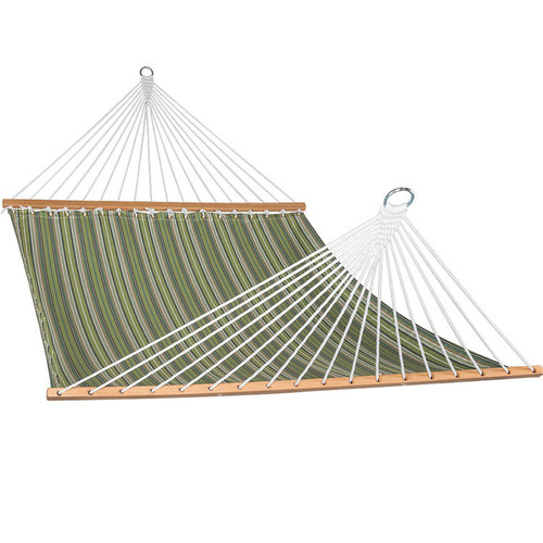 All weather Sunbrella Hammocks with spread bar for two person 450 Lbs capacity,Foster Surfside