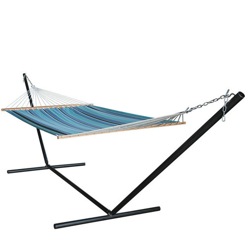 All weather Sunbrella Hammocks with spread bar for two person 450 Lbs capacity, Dolce Oasis
