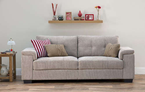 Harlow Natural 3 And 2 Seater Sofa Set Ideal Furniture