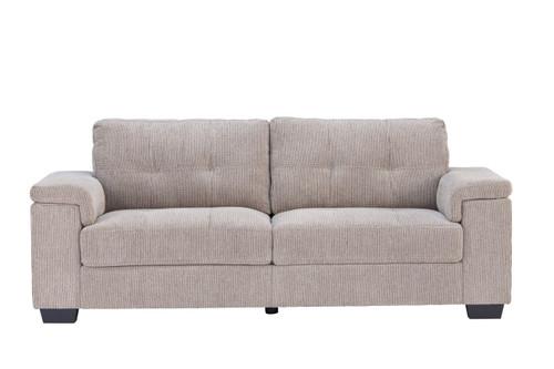 Harlow 3 Seater Natural Ideal Furniture