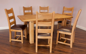 Donny 1.4m Extending Dining Set
