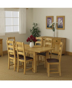 Salisbury Lite Extending Dining Set