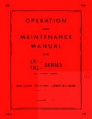 HERCULES JX JXA JXB JXC JXD JXL Engine Service Maintenance Manual