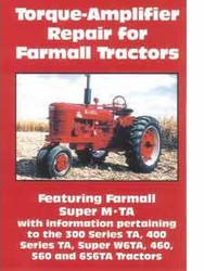 Farmall Torque Amplifier Repair Super M TA 300 400 W6TA 460 560 656TA DVD