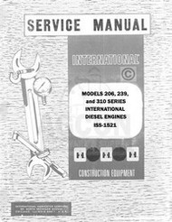 International 2400A 2400B 2500B 2514B 2500-B 2514-B 2400 Engine Service Manual