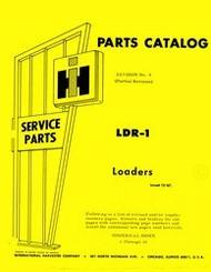 Farmall Loader 1000 1701 2000 2001 2040 Parts Manual IH