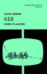 John Deere 490 Corn Planter Operators Manual JD