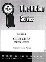 International 140 240 244 254 Clutch Service Manual IH