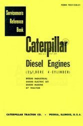 CATERPILLAR D7  D8800 D-7 D-8800 Engine Service Manual