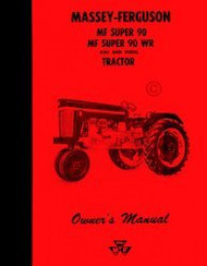 Massey Ferguson MF Super 90 WR Gas Die Operators Manual
