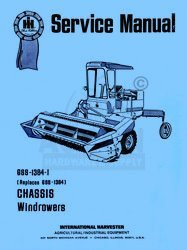 INTERNATIONAL 230 275 Windrower Chassis Service Manual