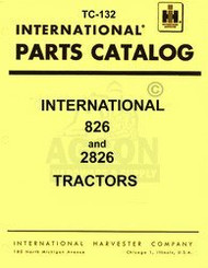 Farmall International 826 2826 Parts Catalog Manual IH