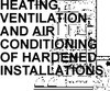 HEATING VENTILATION AND AIR CONDITIONING OF FACILITIES