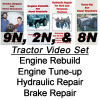 Ford Tractor 9N 2N 8N Rebuild Tune-up Brakes Hydraulic