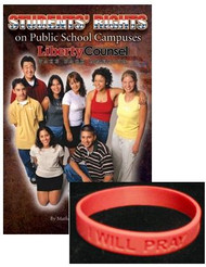 I Will Pray Bracelet & Students' Rights Booklet