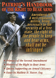 Patriot's Handbook of the Right to Bear Arms - Booklet