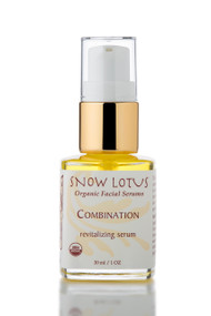Combination Skin Revitalizing Organic Facial Serum, 1oz