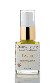 Sensitive Skin Revitalizing Organic Facial Serum, 1oz