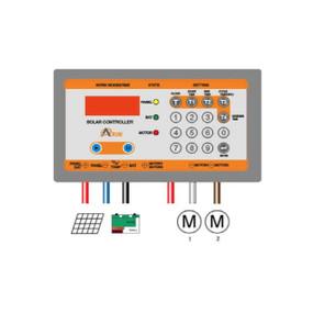 Controlador electrónico programable para uso en los alimentadores automáticos solares ProAqua
