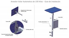 El Panel Solar es una refacción para Alimentador Solar Automatico ProAqua.