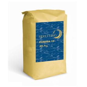 Skretting alimento Europa 15 de 2 mm [Saco de 22.7 Kilos]