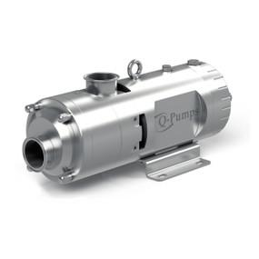 Bomba QTS grado alimenticio doble tornillo Q-Pumps