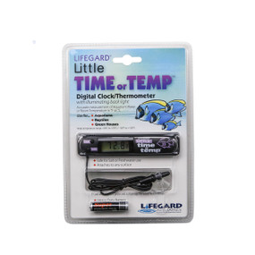 Termometro digital pequeño para acuario Lifegard Acuatics