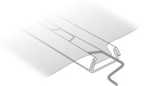 alambre zig zag para fijar el plastico a los perfiles de los invernaderos