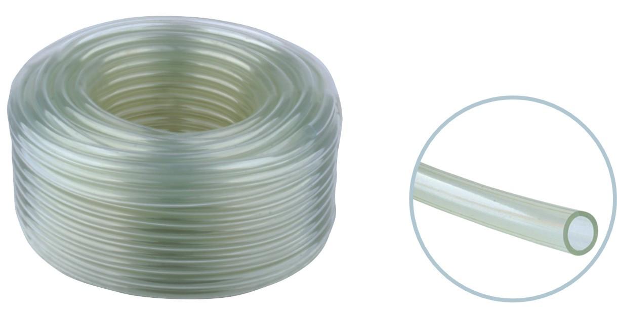 Manguera de plastico transparente de 1 2 ml proaqua for Manguera de jardin 1 2