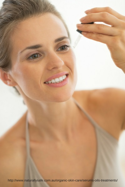 Naturally Safe Cosmetics Organic Facial Serums
