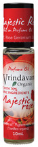 Vrindavan Roll On Organic Perfume Oil - Majestic Rose