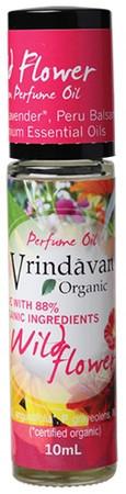 Vrindavan Roll On Organic Perfume Oil - Wild Flower