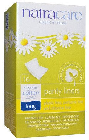 Natracare Organic & Natural Panty Liners - Long