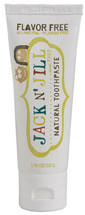 Jack N' Jill Kids Natural Toothpaste - Flavour Free