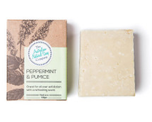 Australian Natural Soap Company Peppermint & Pumice Soap - with box