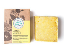 Australian Natural Soap Company Lemon Myrtle Soap - with box