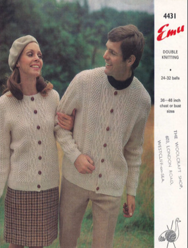 Vintage Aran His & Her Jackets