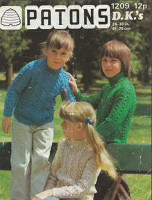 Vintage Children's Aran Sweaters